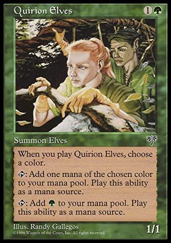 Magic The Gathering - Quirion Elves - Mirage