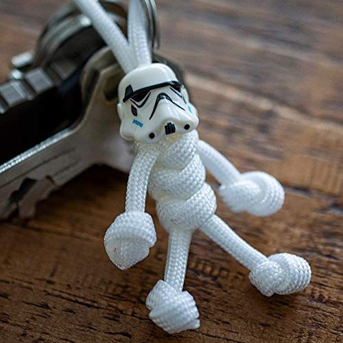 Stormtrooper Paracord Buddy Keych