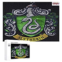 Harry Potter Slytherin Sign 300ピースのパズル木製パズル大人の贈り物子供の誕生日プレゼント