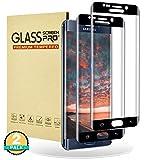 RIIMUHIR Verre Trempé pour Samsung Galaxy S6 Edge,[Lot de 2][Couverture Complète] Film Protection Écran Protecteur pour S6...