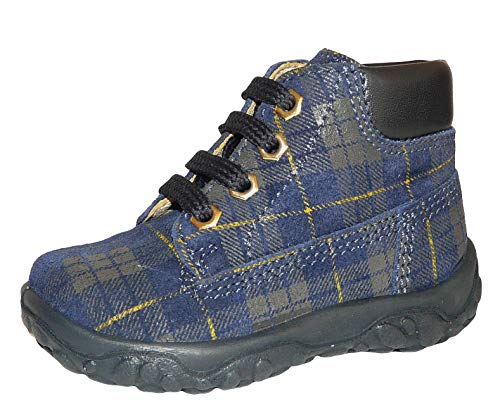 Naturino , Chaussures de ville à lacets pour garçon - Bleu - Bleu, 23 EU