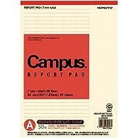 コクヨ キャンパス再生紙レポート用紙 B5 A罫×10冊