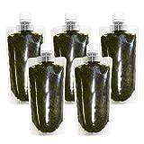 離島 あかもく チューブタイプ 200g×5パック 伊勢志摩 の 離島 で水揚げされた アカモク ギバサ 小分けパック 海藻 湯通し 刻み 加工済 瞬間 冷凍