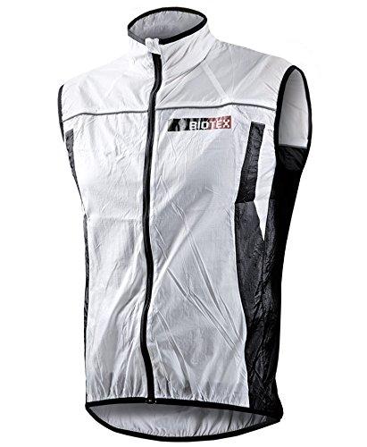 BIOTEX Windbiotex, Gilet Antivento Uomo, 01 Bianco, S