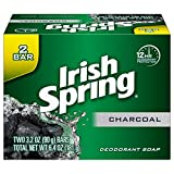 Irish Spring Charcoal Bar Soap - 3.2 Ounce (2 Pack)