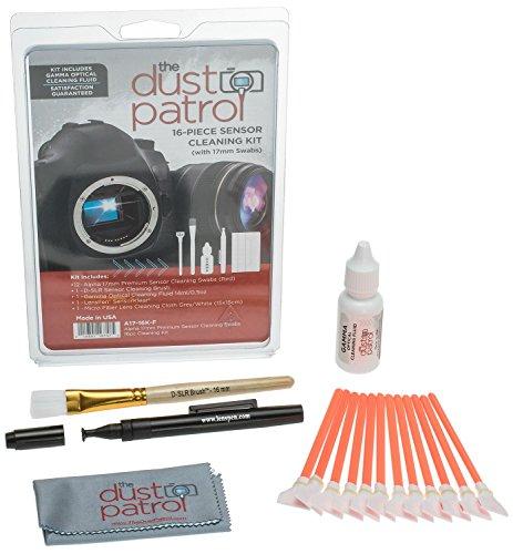 The Dust Patrol Alpha 17mm Premium Hisopos de Limpieza de Se