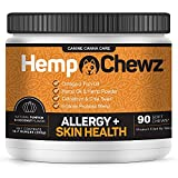 PROMOTES HEALTHY SKIN and COAT for dogs suffering from seasonal or food allergies. Contains a scientific blend of natural ingredients designed to provide relief from dry itchy skin, hot spots, and excessive licking and chewing of paws. Infused with H...