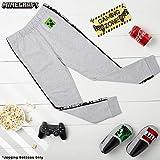Idee Regali per Ragazzi Abbigliamento Sportivo Ragazzo Pantalone Tuta da Ginnastica Bambini Tute Sportive Cotone Minecraft Pantaloni Tuta Bambino Regalo Bimbo Maschio