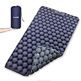 Zacro Double Camping Sleeping Pad, 2 Person Camping Sleeping Mat, Wide 47 inches Lightweight Camping Mattress, Sleeping Mat for Backpacking, Camp, Hiking, Travel.
