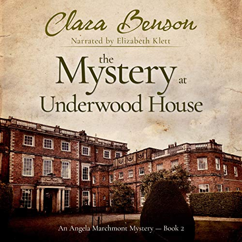 The Mystery at Underwood House audiobook cover art