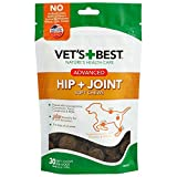 Vet's Best Hip & Joint Soft Chew Dog Supplements   Formulated with Glucosamine & Chondroitin to Support Dog Joint & Cartilage Health   30 Day Supply