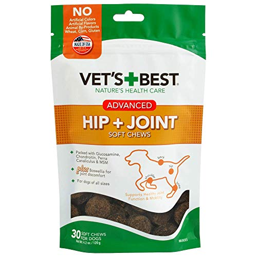 Top 10 best selling list for vet recommended hip and joint supplements for dogs