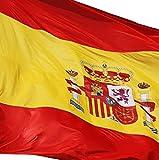 EUROXANTY® Bandera España | Pack de 2 Banderas | 90x150cm | Bandera Resistente (2 Banderas ESPAÑA)