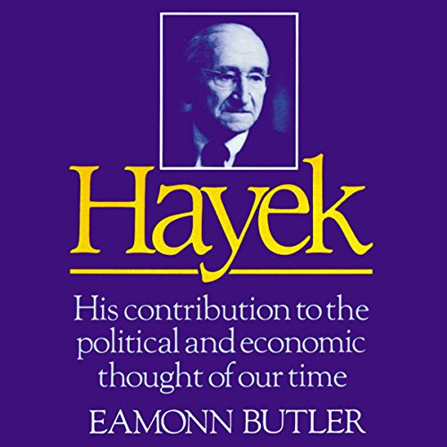 Hayek audiobook cover art