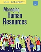 Managing Human Resources of Snell, Scott, Bohlander, George W. 16th (sixteenth) Revised Edition on 31 January 2012