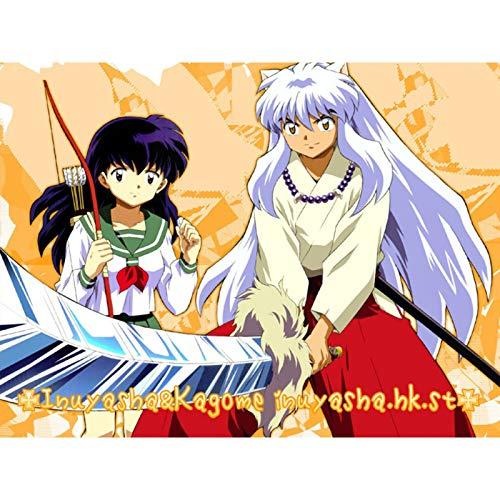 QINGQING Inuyasha Figur Anime Wodden Puzzles Pädagogisches Spiel Spielzeug Geschenk (Size : 500)