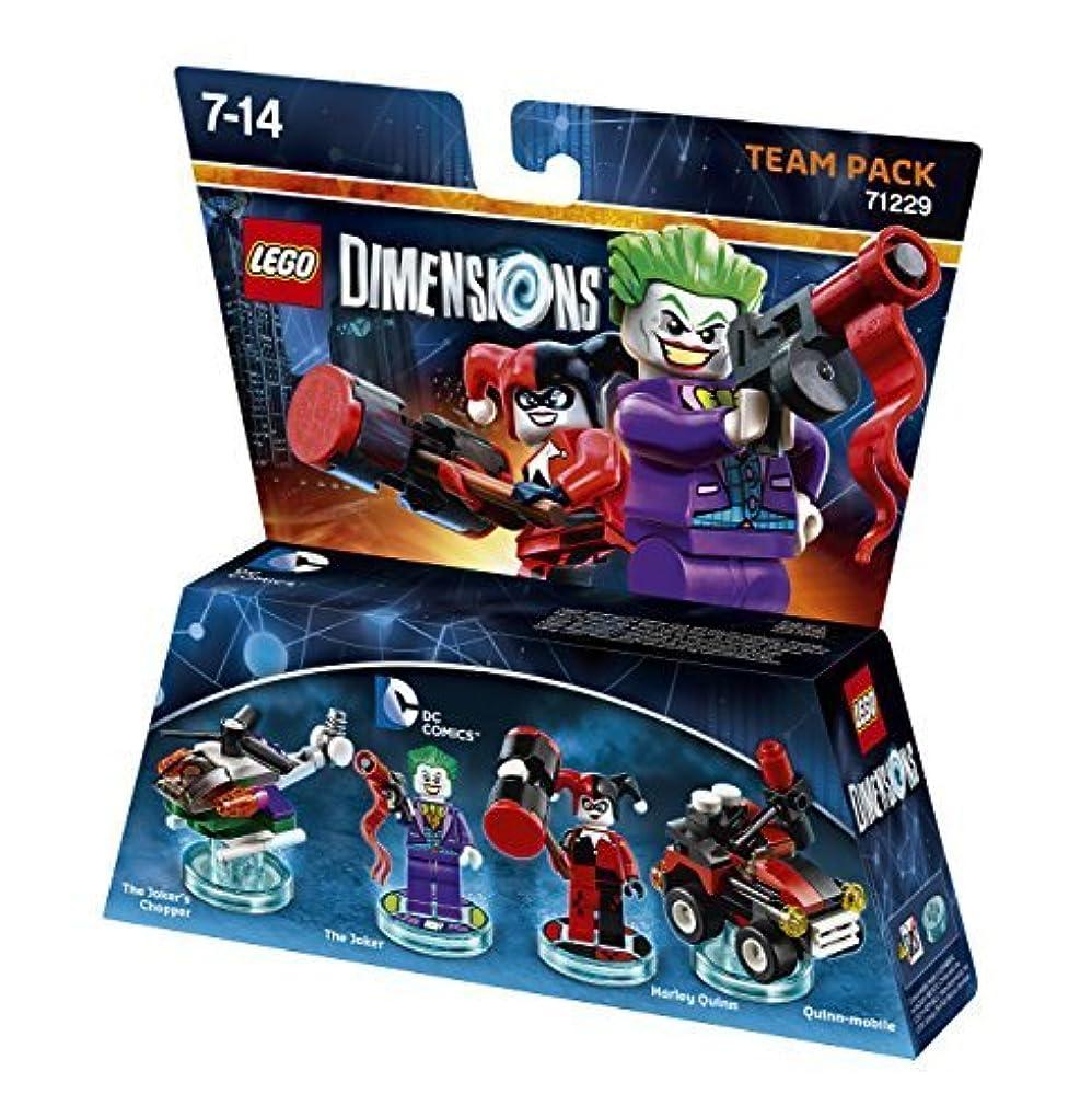 価格安全でない進化するLEGO Dimensions: Team Pack DC Joker/Harley by Warner Bros. Interactive Entertainment [並行輸入品]