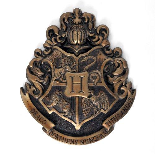 Harry Potter - Hogwarts Wappen Wandbild Metall 28 x 30 cm