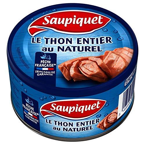 Saupiquet - Le Thon Entier Au Naturel Pêche Française 93G - Lot De 4 - Prix Du Lot - Livraison Rapide En France Métropolitaine Sous 3 Jours Ouverts