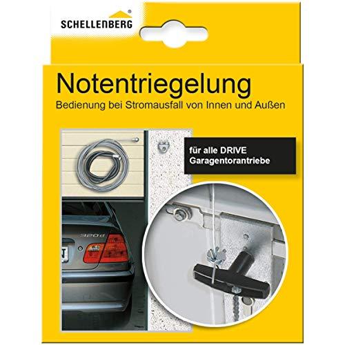 Schellenberg 60553 Notentriegelung für Garagentore innen & außen, passend zu allen Drive Modellen