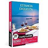 DAKOTABOX - Caja Regalo hombre mujer pareja idea de regalo - Estancia exquisita - 5000 estancias en hoteles románticos de hasta 4*, palacetes, casas rurales y mucho más