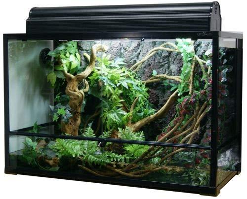 ReptiZoo Glas-Terrarium 90x45x60 cm mit Schwenktüre, zerlegbar - verschickbar! RK0120 (ohne Inhalt)