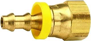Dixon 30140411 Brass Legris Push-in Fem Connector 5//32 Tube x 1//8 Fem NPT