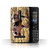 Stuff4 Phone Case for Nokia Asha 210 Cute Pet Animals