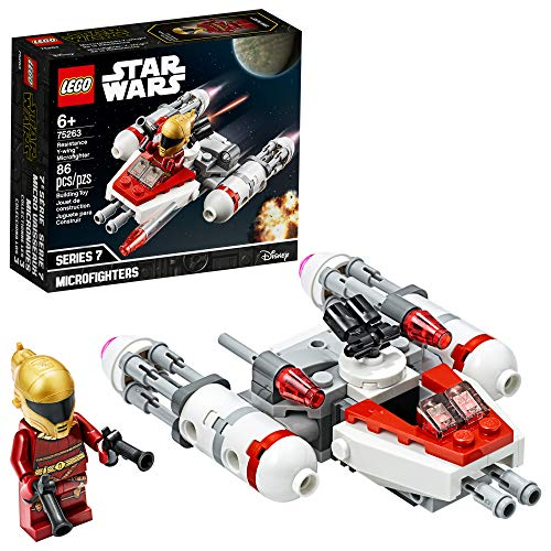 LEGO Star Wars Resistance Y-Wing Microfighter 75263 Cool Toy Building Kit for Kids, New 2020 (86 Pieces)