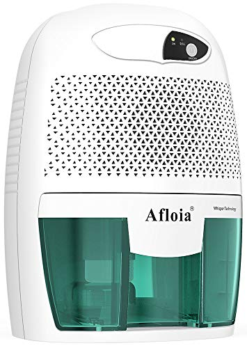 Read About Afloia Portable Dehumidifier for Bathroom,1500 Cubic Feet Electic Mini Home dehumidifier ...