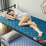 Colchón de futón, colchón de suelo japonés,colchón enrollable suave y plegable, almohadilla de colchón transpirable...
