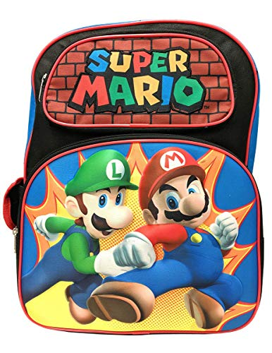Super Mario 3D 16' Large Backpack
