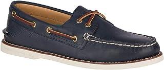 Sperry A//O 2-eye en Daim Chaussures à Enfiler Chaussures-Gris Toutes Les Tailles