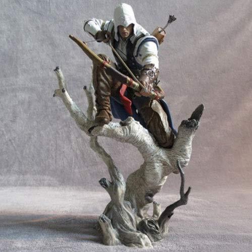 Yifuty Juego de muñecas circundantes Assassin'S Creed 3 Series Edición Gratuita Connor Figura Figura Doll Decoration Película y TV Personajes de Anime Altura 280mm
