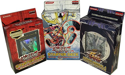 Yu-Gi-Oh! Starter Deck Set 2011 Dawn of the XYZ + 2012 XYZ Symphony + Hidden Arsenal 4 Special Edition