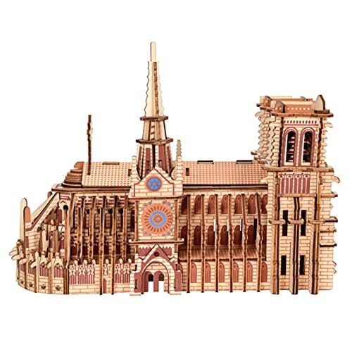 Rompecabezas de madera 3D, rompecabezas de madera 30 x 4.72 x 8.66 pulgadas, rompecabezas 3D de madera, para adultos, ideal como regalo de cumpleaños