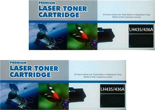 Pack 2 Unidades Toner Compatible HP CE285A / CB435A / CB436A para HP Laserjet Pro P1102 P1102W M1210