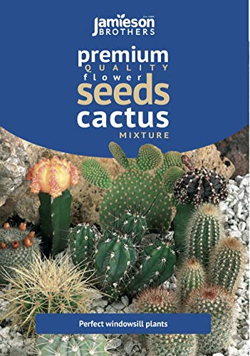 Jamieson Brothers Cactus Mixed House Plant Seeds
