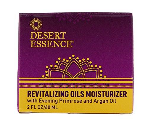 Price comparison product image Desert Essence Revitalizing Oils Moisturizer - 2 Fl Oz - For Daily Makeup - Omega-6 Fatty Acids - Argan,  Avocado & Evening Primrose Oil - Fights Environmental Stressors - Cleanse