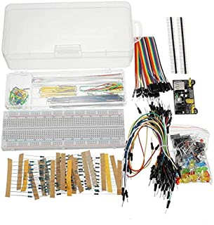 Dlb0109 Power Supply Module 830 Hole Breadboard Resistor Capacitor LED Kit for Arduino - Products That Work with prescribe...