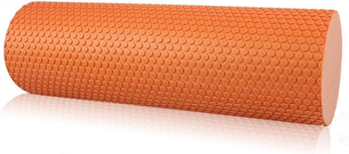 Cvthfyk Solide Yoga Colonne Haute Qualité Fitness Yoga Baton Haute Dureté Yoga Muscle Massage Baton (Couleur   Orange)