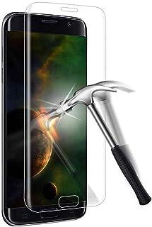 Samsung Galaxy S7 edge ガラスフィルム Samsung ギャラクシー S7 edge sc-02h scv33 フィルム 専用 3D曲面 硬度9H 98%高透過率 防指紋 スクラッチ防止 気泡ゼロ 飛散防止処理