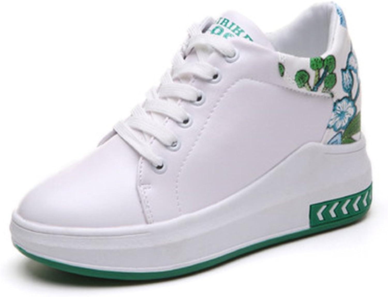 YUBUKE Ladies Soft shoes Womens Mesh Sports Tennis shoes Platform shoes