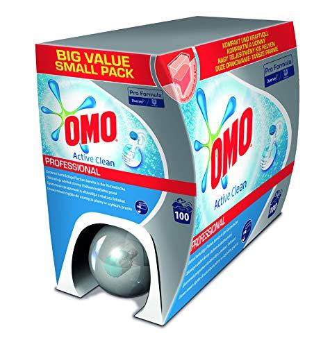 Omo Professional 7514769 Flüssiges Vollwaschmittel, Bag in Box, Waschmittel mit Dosierhilfe, 7,5 L, für 100 Wäschen