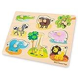New Classic Toys - Peg Puzzle - Safari