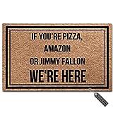 MsMr Divertido Felpudo si estás Pizza, Amazon, o Jimmy Fallon,...