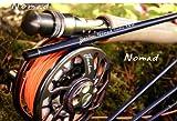 Flextec Nomad Travel Fliegenrute aus Kohlefaser, 7-teilig, 2,4, 2,6 und 2,7m, in Größen 4/5, 5/6 und 6/7 8' 6 # 5/6