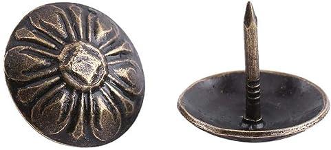 100st Vintage Bekleding Nagels Bronzen Metalen Tags Decoratieve Tack Stud voor Meubels Sofa Schoen Deur Kaart Foto Bevesti...