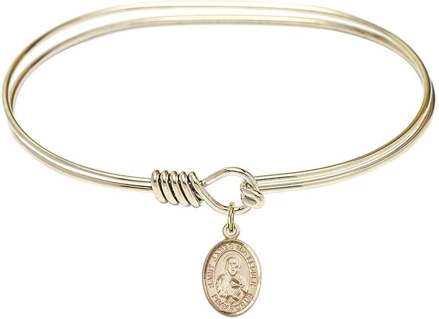 Bliss 7 inch Oval Eye Hook Bangle with Limited time Super popular specialty store sale Bracelet James a The St.