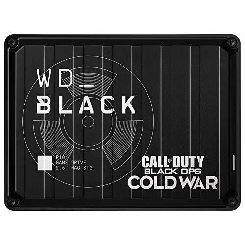 WD_BLACK 2TB P10 Game Drive für den Zugriff auf Ihre Spielebibliothek von unterwegs – Läuft auf Konsole oder PC
